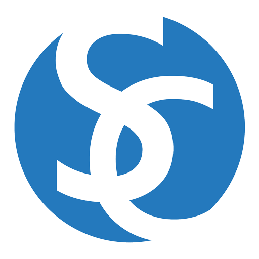 Blue Logo of Sassoon Cymrot